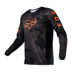Fox Kinder Cross Shirt 2021 180 Trev - Zwart Camo