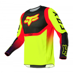 Fox Kinder Cross Shirt 2021 360 Voke - Fluo Geel
