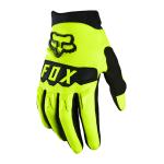 Fox Kinder Crosshandschoenen 2021 Dirtpaw - Fluo Geel