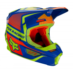 Fox Kinder Crosshelm 2021 V1 Oktiv - Blauw