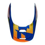 Fox Kinder Helmklep 2021 V1 Oktiv - Blauw