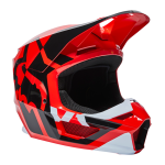 Fox Crosshelm 2022 V1 Lux - Fluo Rood