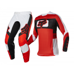 Fox Crosskleding 2022 Flexair Mirer - Fluo Rood