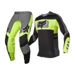 Fox Crosskleding 2022 Flexair Mirer - Zwart / Geel