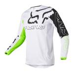 Fox Kinder Cross Shirt 2022 180 Skew - Fluo Geel