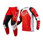 Fox Kinder Crosskleding 2022 180 Lux - Fluo Rood