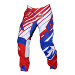 JT Racing Crossbroek Hyperlite Remix - Rood / Wit / Blauw