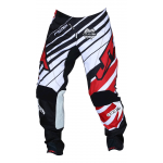 JT Racing Crossbroek Hyperlite Remix - Zwart / Rood / Wit