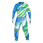 JT Racing Crosskleding Hyperlite Remix - Cyan / Groen / Wit