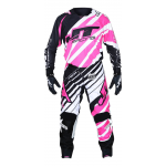 JT Racing Crosskleding Hyperlite Remix - Zwart / Roze / Wit