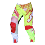 JT Racing Crossbroek Hyperlite Voltage - Rood / Neon Geel