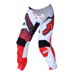 JT Racing Crossbroek Hyperlite Voltage - Zwart / Rood / Wit