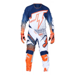 JT Racing Crosskleding Hyperlite Voltage - Blauw / Oranje / Wit