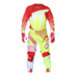 JT Racing Crosskleding Hyperlite Voltage - Rood / Neon Geel