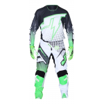 JT Racing Crosskleding Hyperlite Voltage - Zwart / Groen / Wit