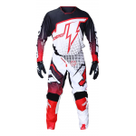 JT Racing Crosskleding Hyperlite Voltage - Zwart / Rood / Wit