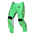 JT Racing Crossbroek Slasher Flow - Groen / Zwart