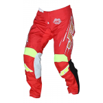 JT Racing Crossbroek Slasher Flow - Rood / Geel