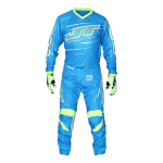 JT Racing Crosskleding Slasher Flow - Cyan / Geel