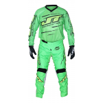 JT Racing Crosskleding Slasher Flow - Groen / Zwart