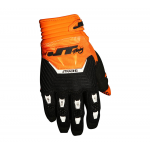 JT Racing Crosshandschoenen 2017 Throttle - Zwart / Oranje