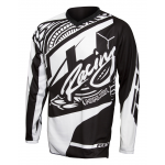JT Racing Cross Shirt 2017 Flex Victory - Jeugd - Zwart / Wit