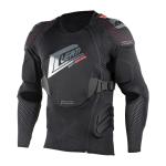 Leatt Bodyprotector 3DF AirFit - Zwart / Rood