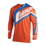 Leatt Cross Shirt 2018 GPX 2.5 - Jeugd - Oranje / Denim