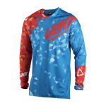 Leatt Cross Shirt 2018 GPX 4.5 Lite - Blauw / Rood