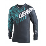 Leatt Cross Shirt 2018 GPX 5.5 Ultraweld - Grijs / Teal