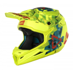 Leatt Crosshelm 2018 GPX 4.5 - Jeugd - Lime / Teal