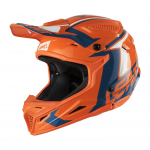 Leatt Crosshelm 2018 GPX 4.5 - Jeugd - Oranje / Denim