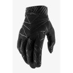 100% Crosshandschoenen Ridefit - Zwart / Wit