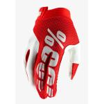 100% Crosshandschoenen iTrack - Rood / Wit