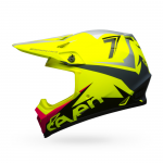 Seven Crosshelm 2018.1 MX-9 Mips Ignite - Gloss Flo Geel