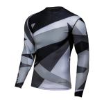 Seven Kinder Compressie Shirt 2021.1 Zero Battleship - Zwart / Grijs