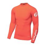 Seven Kinder Compressie Shirt 2021.1 Zero - Coral