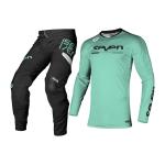 Seven Crosskleding 2021.2 Rival Rampart - Zwart / Mint