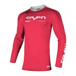 Seven Kinder Cross Shirt 2021.1 Rival Rampart - Flo Rood