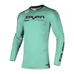 Seven Kinder Cross Shirt 2021.1 Rival Rampart - Zwart / Mint