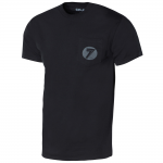 Seven T-Shirt Badger Pocket - Zwart / Reflective