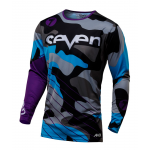 Seven Cross Shirt 2017 Annex Soldier - Jeugd - Paars