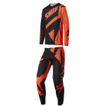 Shift Crosskleding 2017 3lack Mainline - Zwart / Oranje