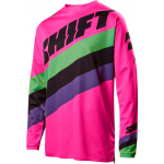 Shift Cross Shirt 2017 Whit3 Tarmac - Zwart / Roze