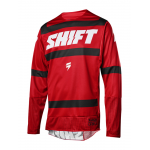 Shift Cross Shirt 2018 3LACK Label Strike - Donker Rood