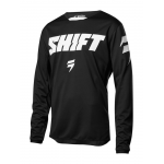 Shift Cross Shirt 2018 WHIT3 Label Ninety Seven - Jeugd - Zwart