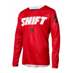 Shift Cross Shirt 2018 WHIT3 Label Ninety Seven - Rood