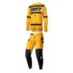 Shift Crosskleding 2018 3LACK Label Strike - Geel