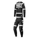 Shift Crosskleding 2018 3LACK Label Strike - Zwart / Wit