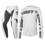 Shift Crosskleding 2019 WHIT3 Label LE Syndicate - Zwart / Wit